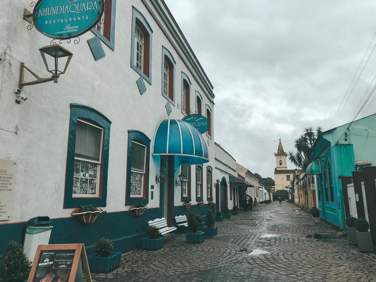 Rua principal de Morretes (Foto: Trip To Follow)