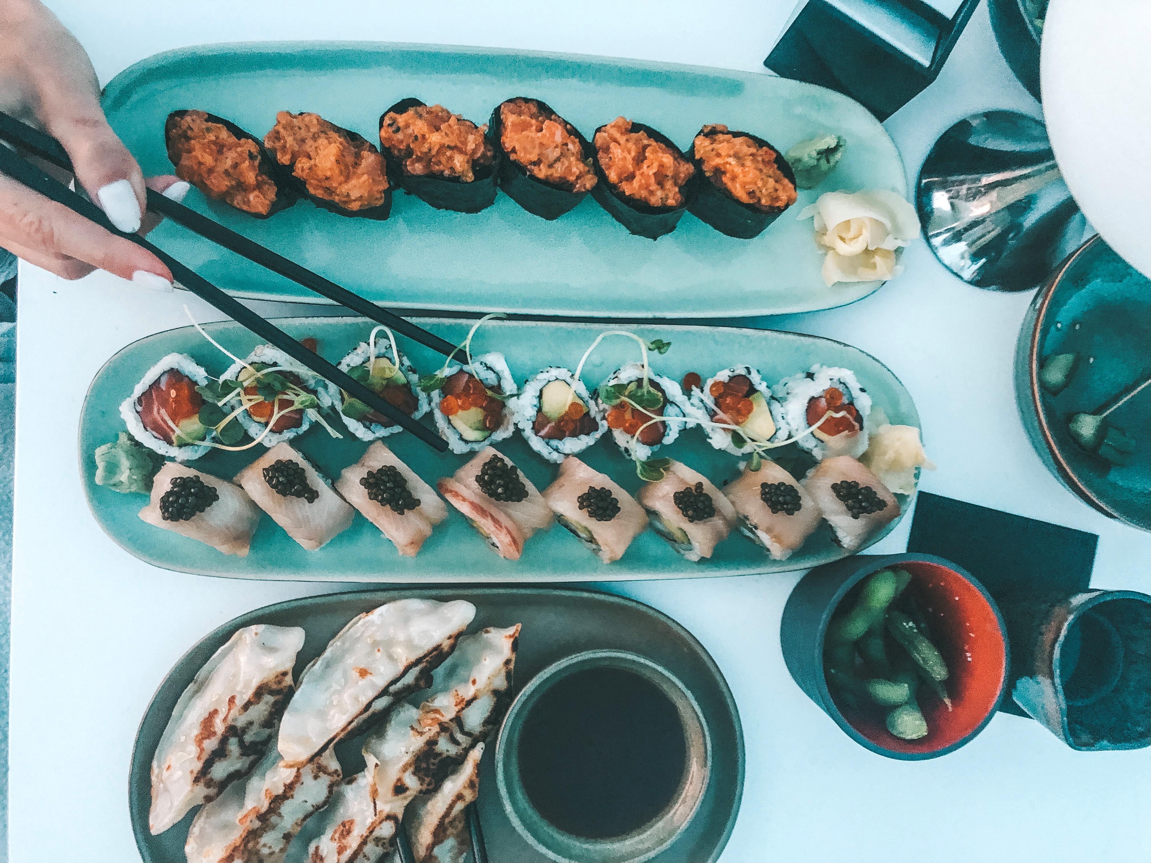 Jantar japonês no La Réserve Ramatuelle (Foto: Trip To Follow)
