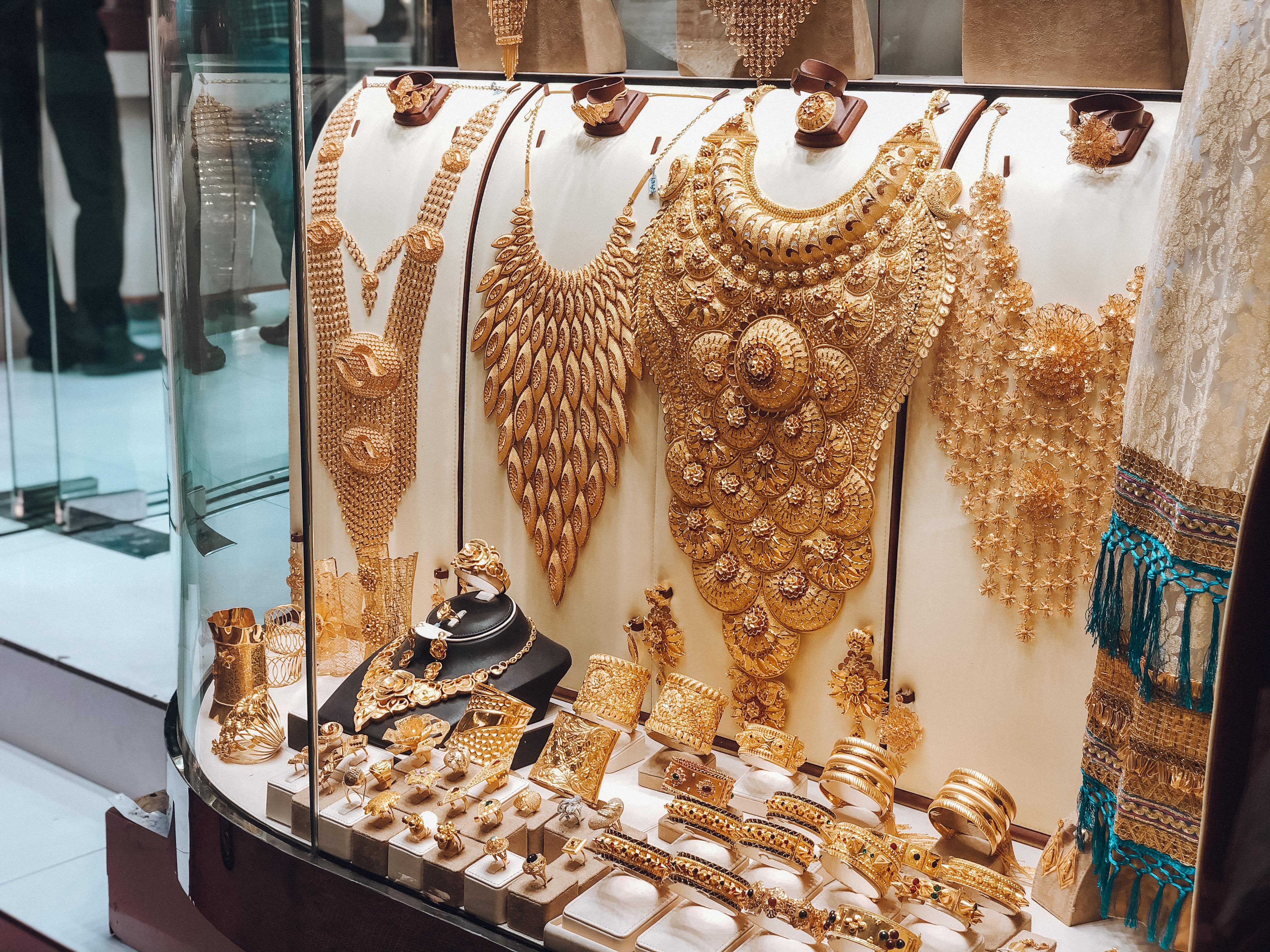 Mercado de Ouro em Dubai (Foto: Reprodução)