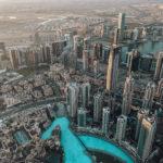 Dubai visto do alto do Burj Khalifa (Foto: Trip To Follow)