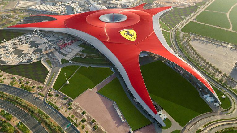 Ferrari World (Foto: Divulgação)