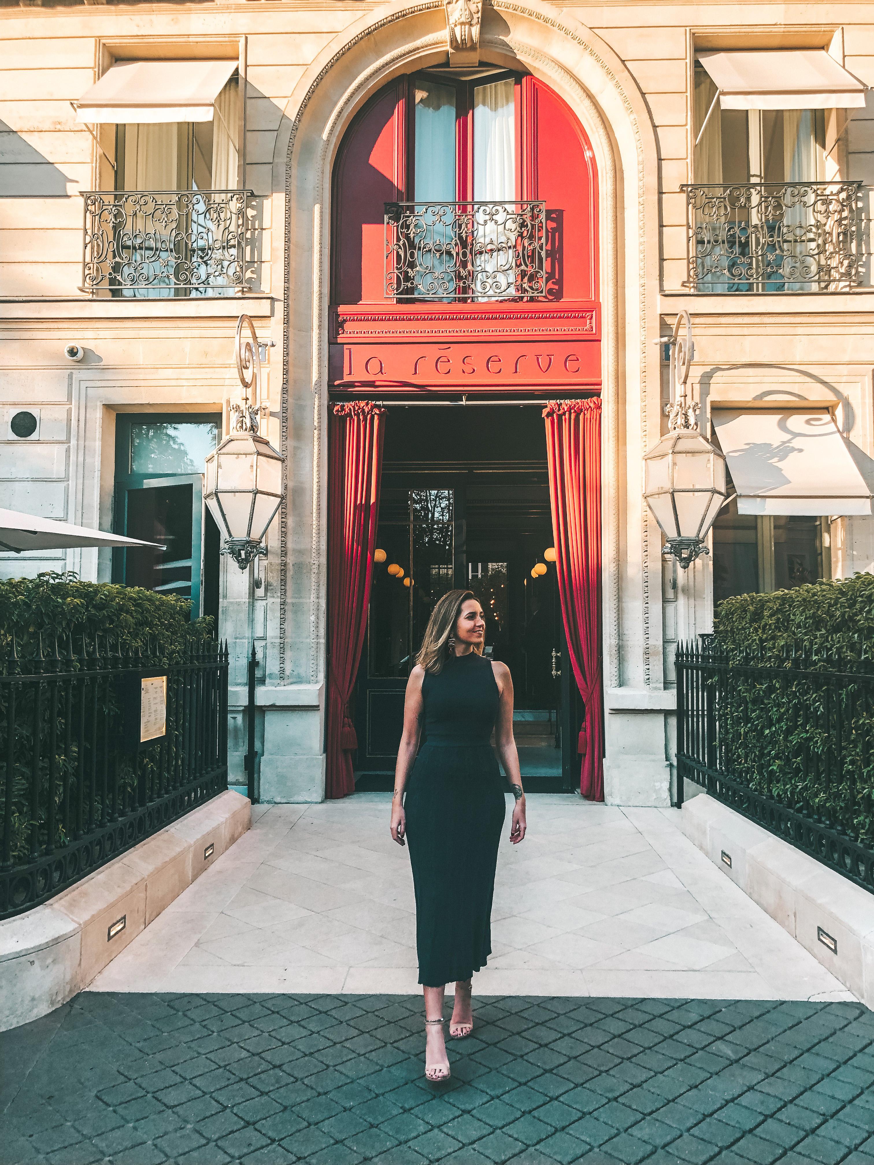 Entrada do La Réserve Paris (Foto: Trip To Follow)