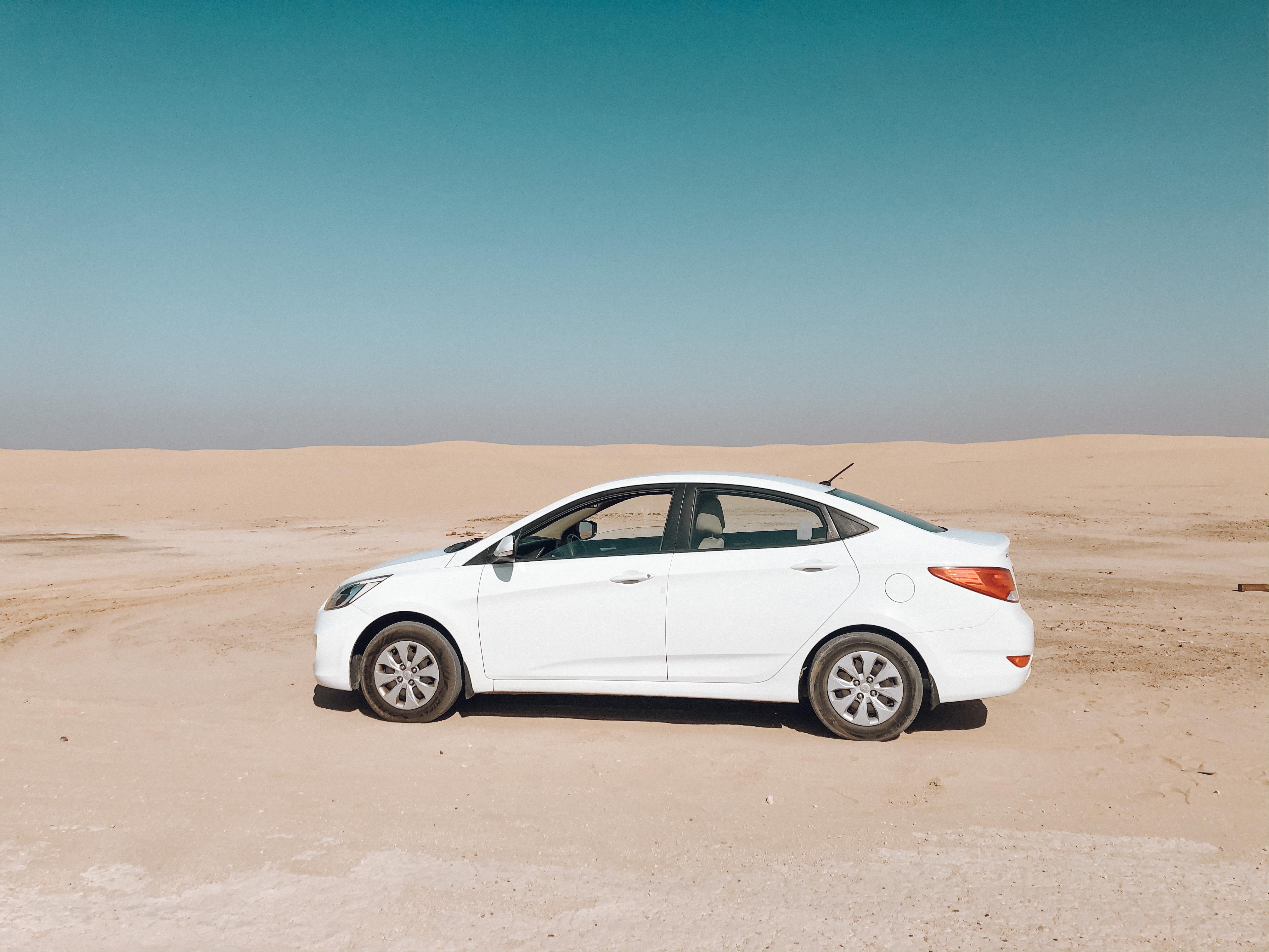 Carro que alugamos em Dubai (Foto: Trip To Follow)