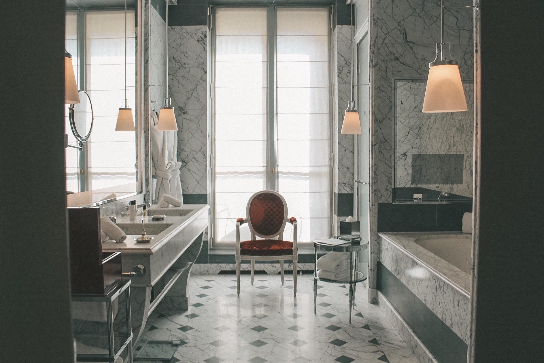 Banheiro da minha suíte (Foto: Trip To Follow)