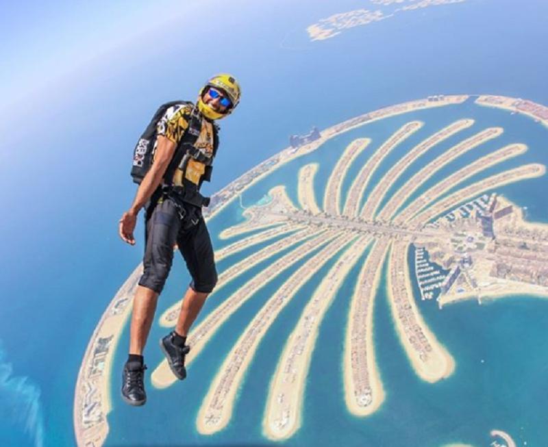Skydive Dubai (Foto: Divulgação)