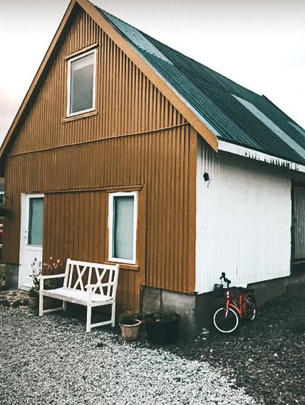 Nossa casinha do Airbnb em Faroe Islands (Foto: Trip To Follow)