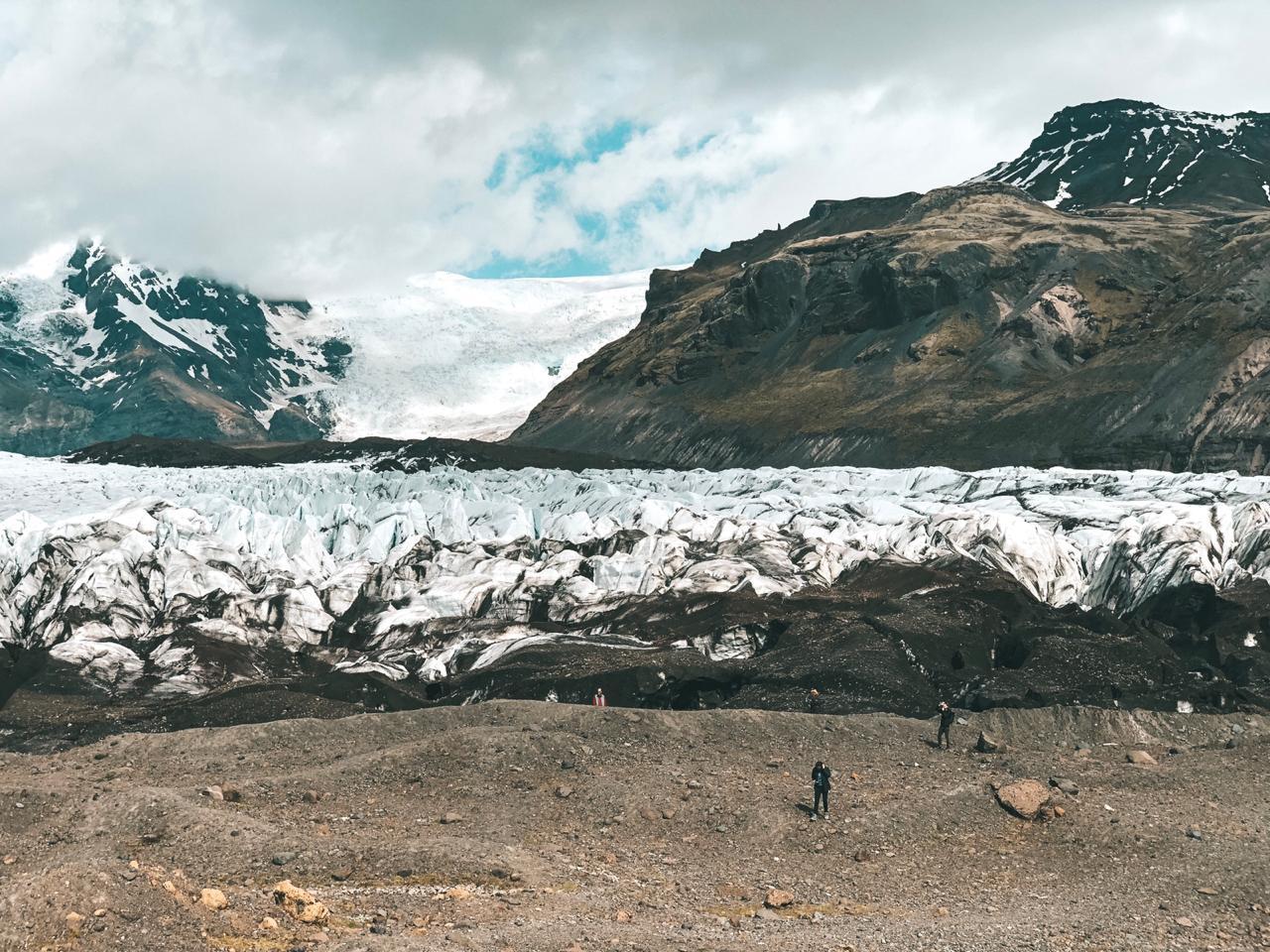 Geleira Vatnajökull, na Islândia (Foto: Trip To Follow)