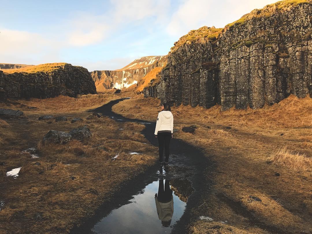 Dverghamrar, na Islândia (Foto: Trip To Follow)