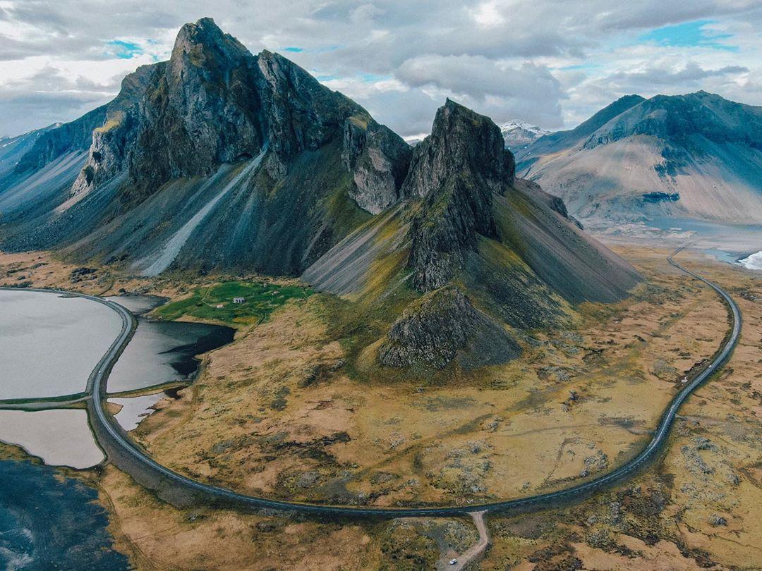 Estrada que leva para Djupivogur, na Islândia (Foto: Trip To Follow)