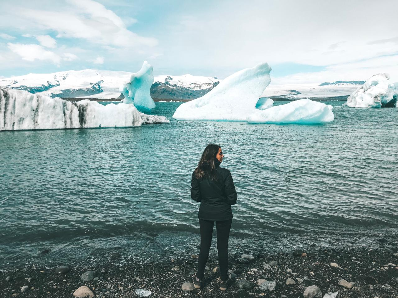 Jökulsárlón, na Islândia (Foto: Trip To Follow)