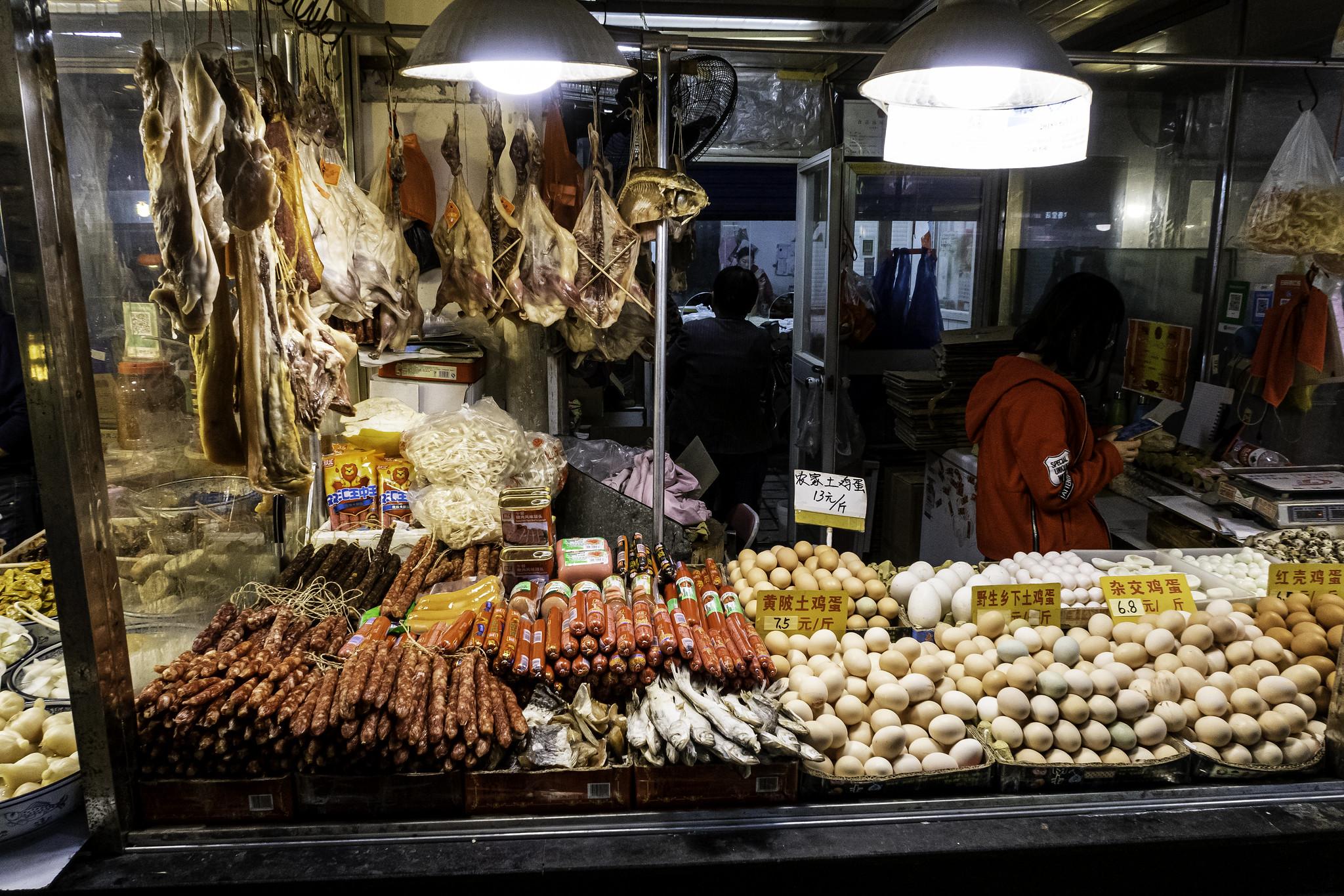 Mercados de Wuhan (Foto: Arend Kuester, Flicker)