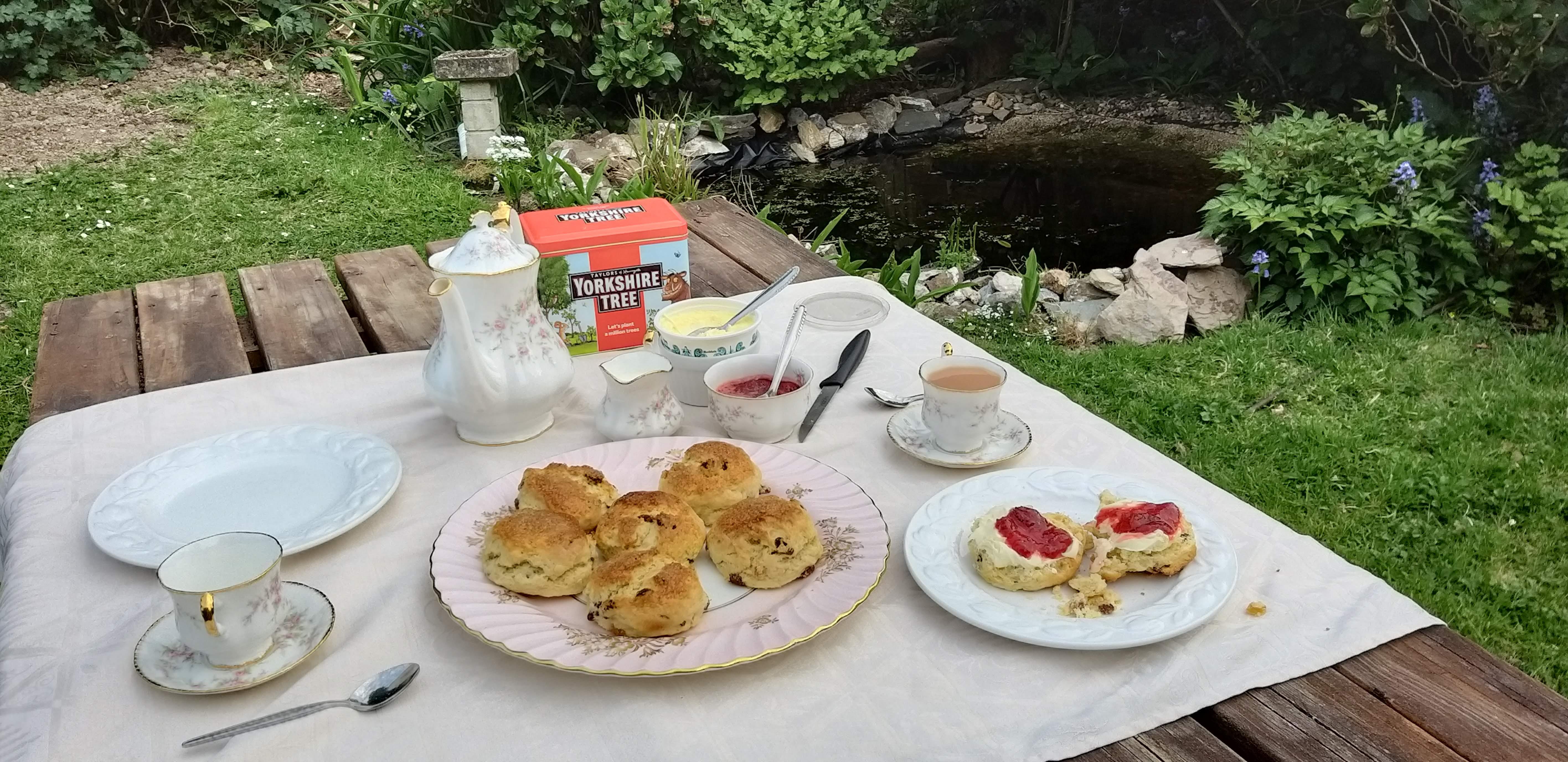 Cream Tea, Inglaterra (Foto: Lizani Bessel)