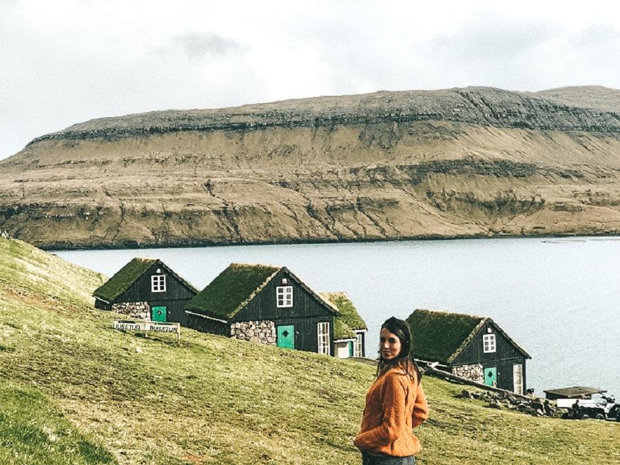 Casas típicas de Faroe Islands (Foto: Trip To Follow)