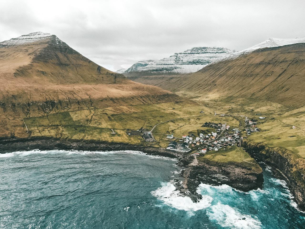Gjogv, no extremo norte da ilha Eysturoy (Foto: Trip To Follow)