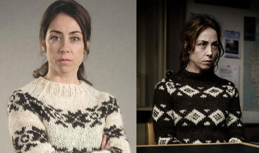 """Sarah Lund, na série de TV dinamarquesa """"The Killing"""" (Foto: Reprodução)"""