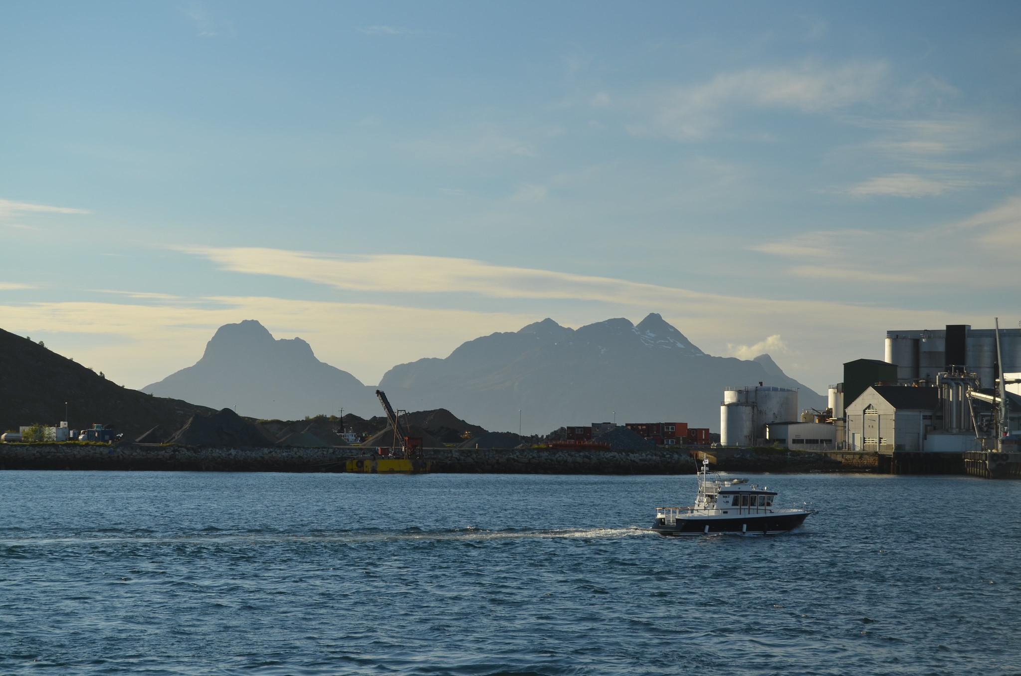 Trondheim a Bodø (Foto: Denis Simonet - Flickr)
