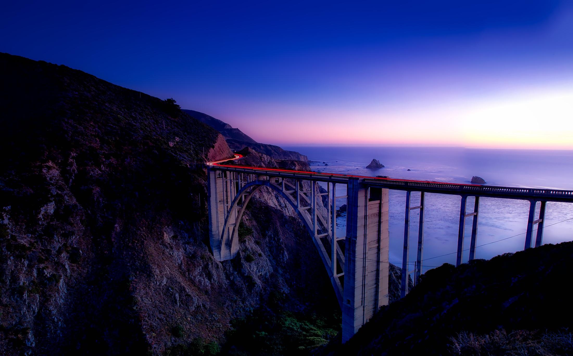 Big Sur, Califórnia (Foto: Pxhere)