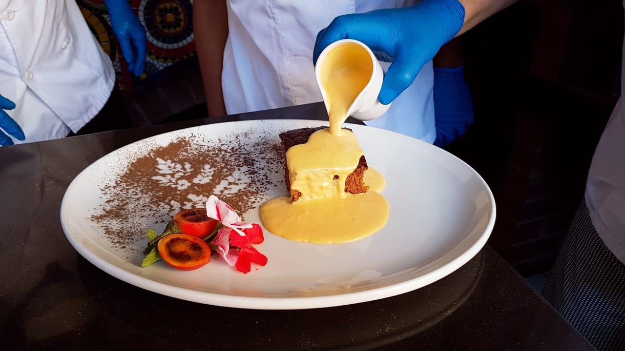 Malva Pudding, África do Sul (Foto: Pedro Bezerra Neto)