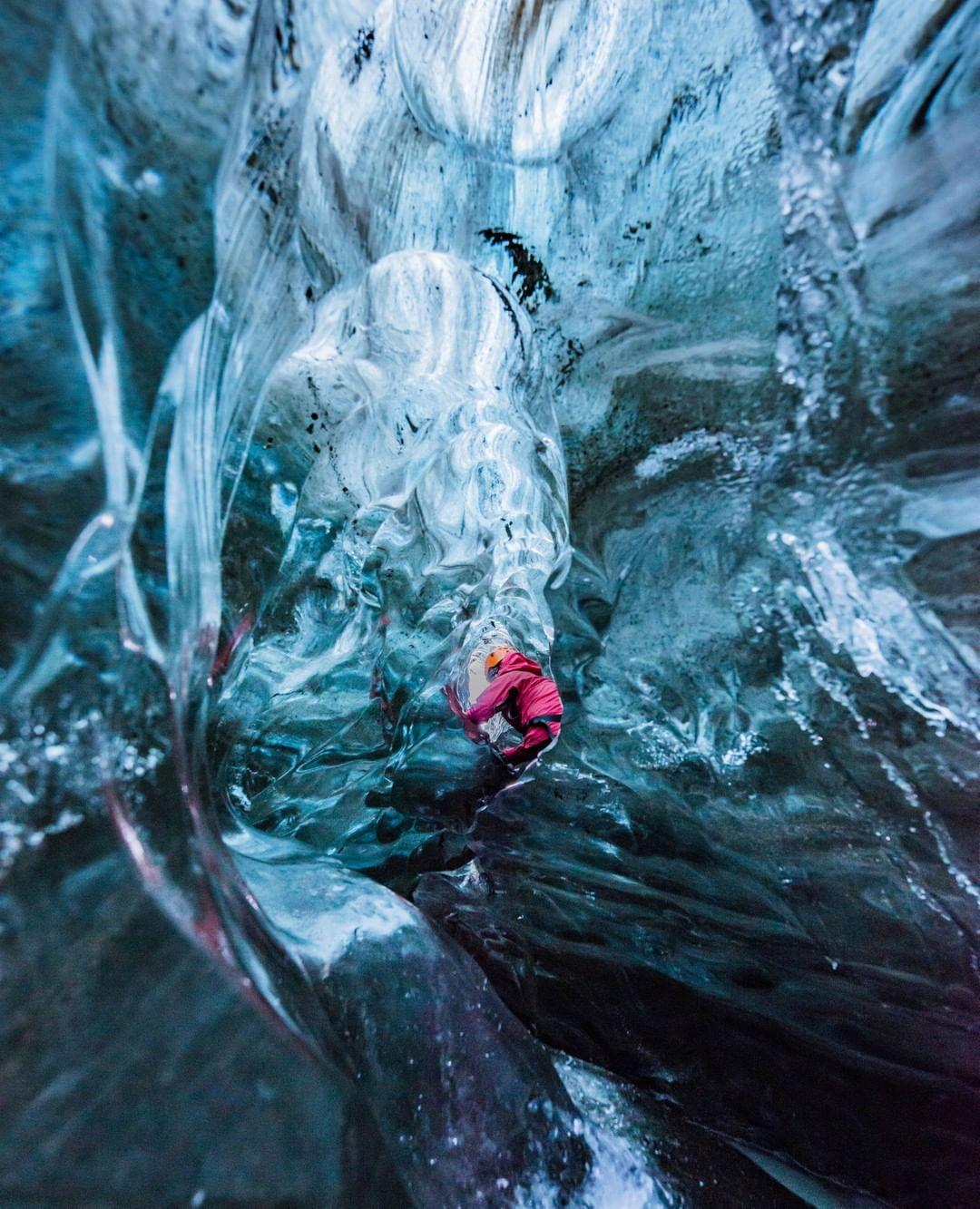 Jökulsárlón-Glacier lagoon, na Islândia (Foto: Reprodução @localguide)