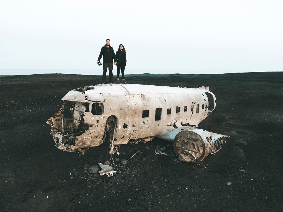 Dakota Wreck, na Islândia (Foto: Trip To Follow)