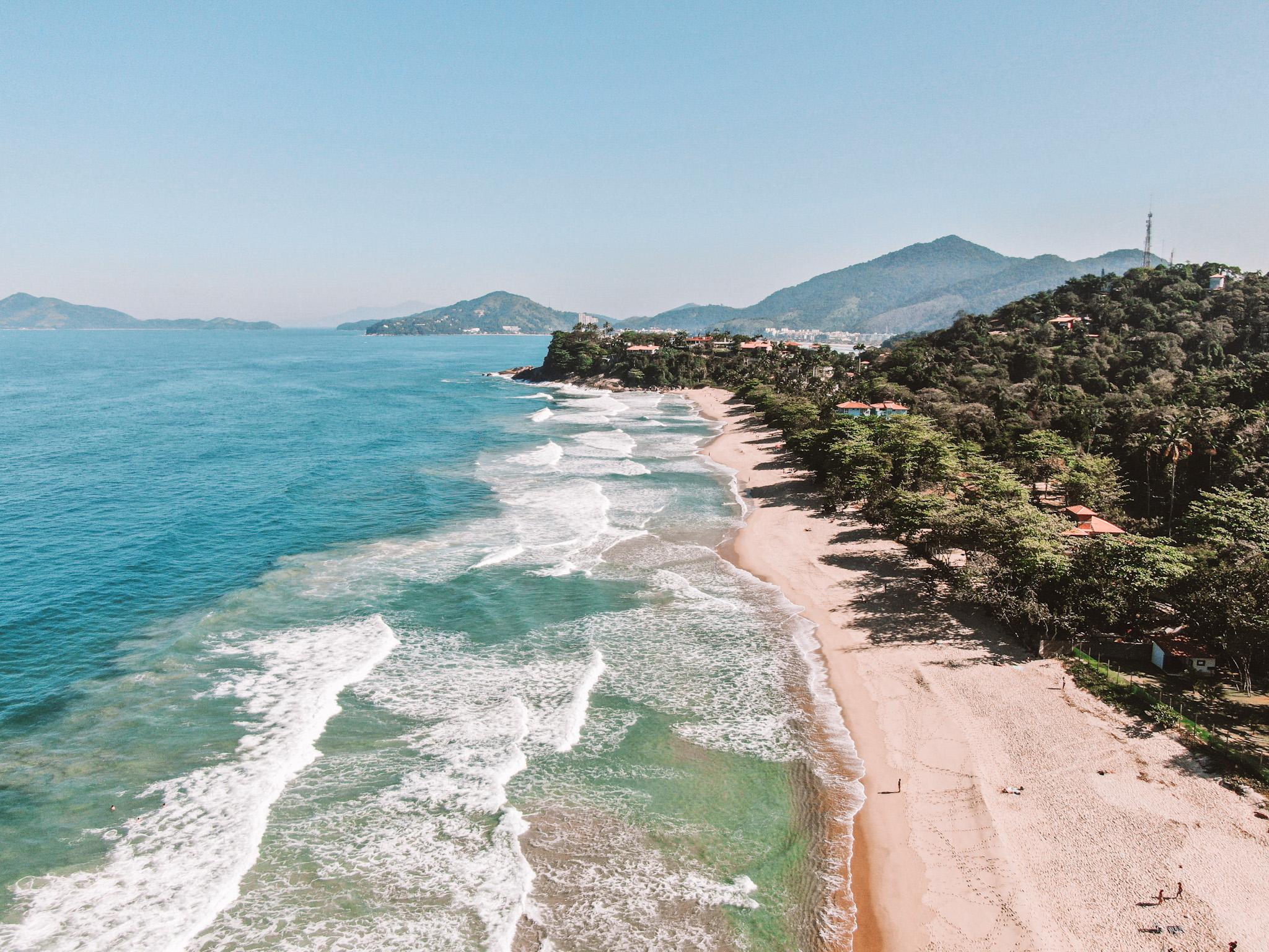 Praia Vermelha, em Ubatuba (Foto: Trip To Follow)
