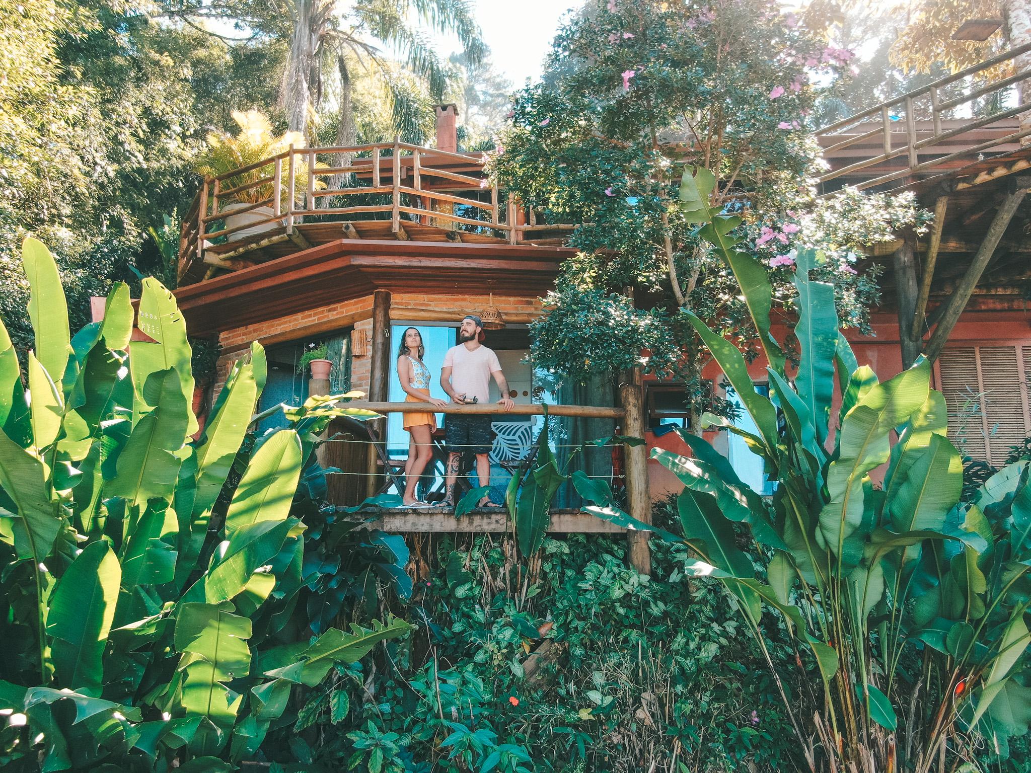Chalé Manacá, em Ubatuba (Foto: Trip To Follow)