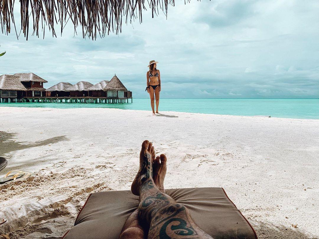 Praia no Anantara Dhigu, nas Maldivas (Foto: Trip To Follow)
