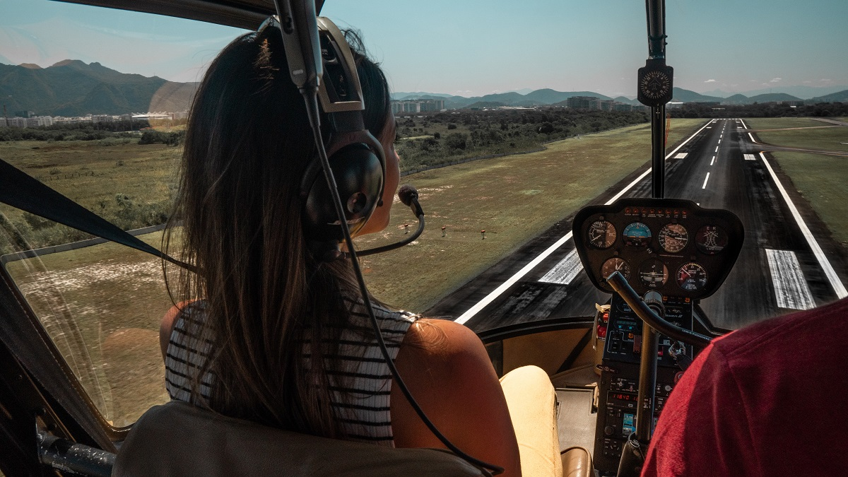 Voo de helicóptero no Rio de Janeiro (Foto: Rafael Felix)