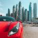 Ferrari alugada em Dubai (Foto: Trip To Follow)